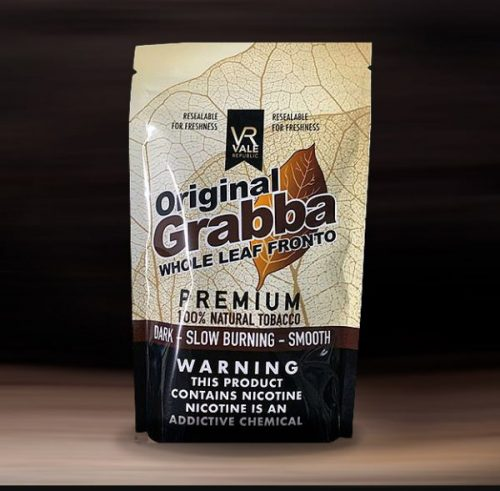 Grabba whole leaf Fronto