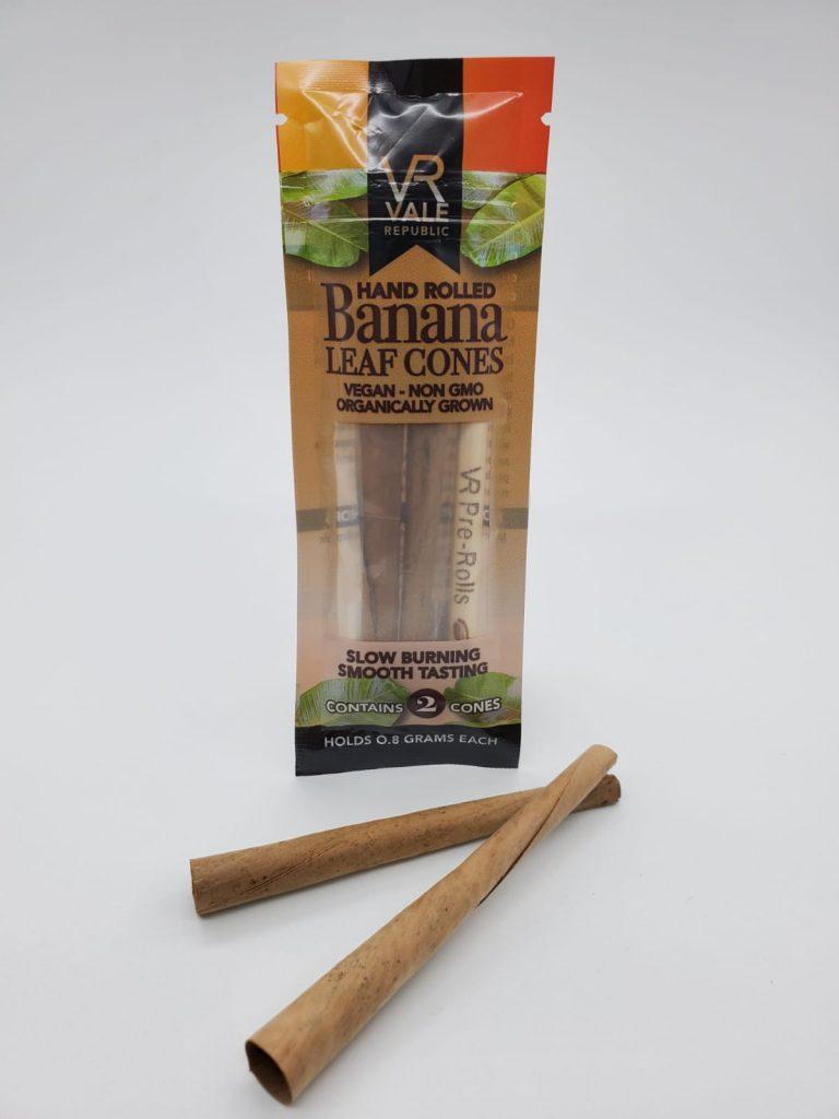 smoke banana leaf cone