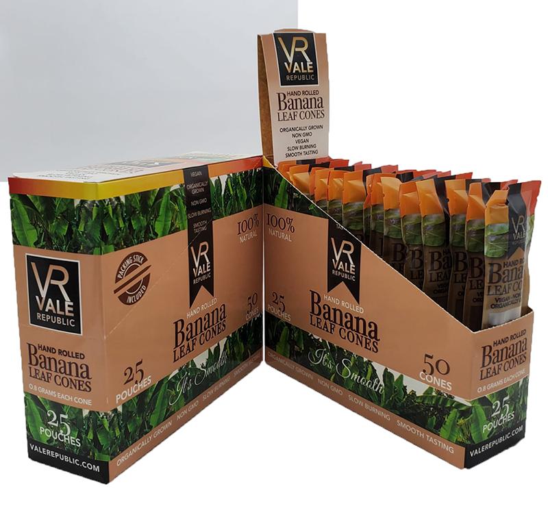 banana leaf cone boxes